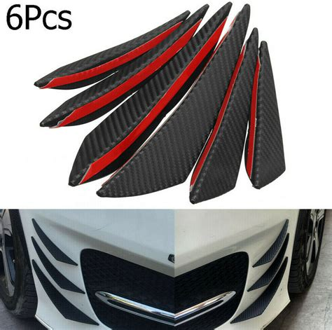 The awkward looking rubber extensions to the back bumper are required by us regulations, for instance. Carbon Fibre Front Bumper Lip Diffuser Canard Valance For Bugatti Chiron Veyron | eBay