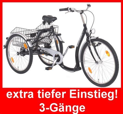 fahrrad tiefer einstieg ruhrwerk dreirad f erwachsene 26 quot transportrad fahrrad cityrad tiefer einstieg ebay