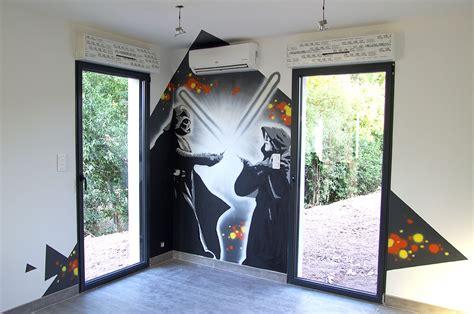 deco chambre wars fresque murale décorative studio 832 toulon paca