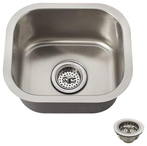 small undermount kitchen sink schon scsbsb18 premium small 18 gauge single bowl