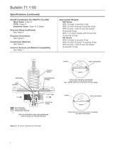 95 Series Industrial Pressure Regulators - FISHER