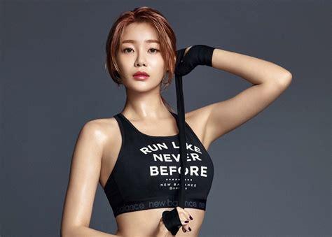 aoa yuna reveals  exercise routine responsible