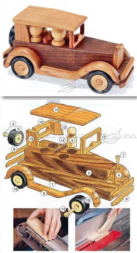 wooden toy cars ideas  pinterest toy cars