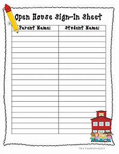 the 2 teaching divas may 2013 With back to school sign in sheet template
