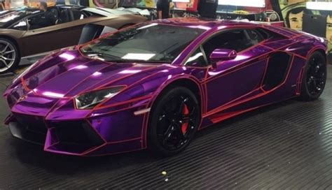 21-year-old Youtuber's Lamborghini Aventador Gets Tron