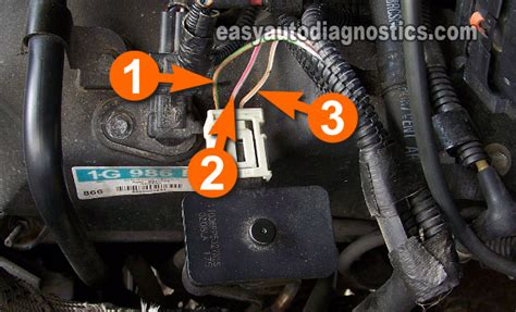 Part How Test The Ford Egr Valve Vacuum Solenoid