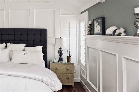 master bedroom wainscoting