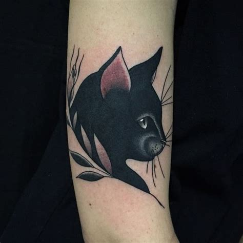 Black Cat Tattoo Design Ideas With Meaning (2018