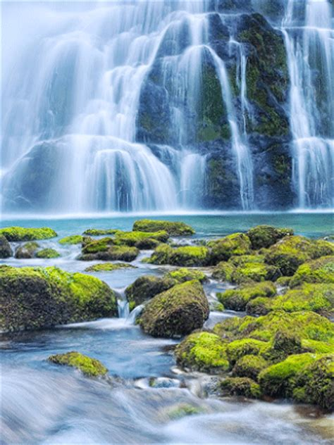 verysoft heaven waterfall animated