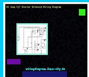84 Jeep Cj7 Starter Solenoid Wiring Diagram  Wiring