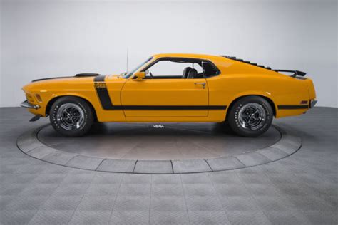 1970 Ford Mustang Boss 302 74670 Miles Grabber Orange