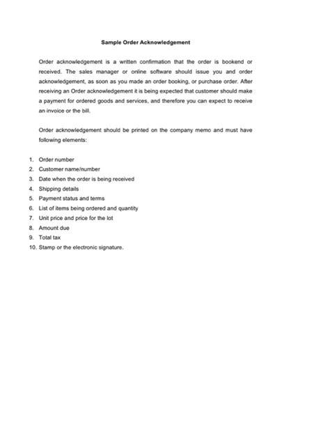 acknowledgement letter templates  templates