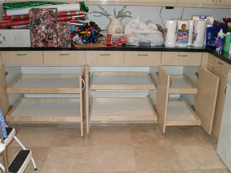 Shelves That Slide by Kitchen Cabinet Organization Slide Outs Roll Outs