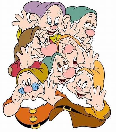Dwarfs Seven Disney Clipart Snow Clip Dwarves