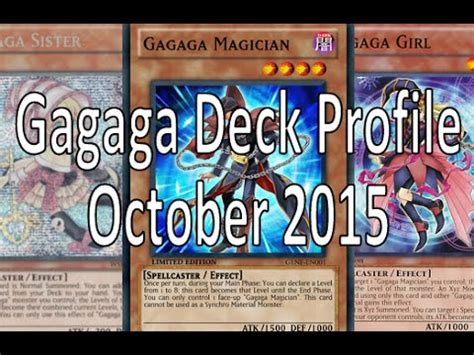 Chronomaly Deck April 2015 by Gagaga Deck May 2015 Videomoviles