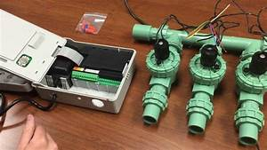 How To Wire Valves And Timer