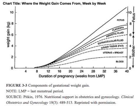 facts  pregnancy weight gain