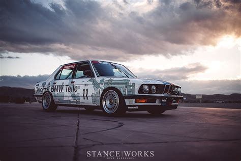 Mike Burroughs's 1984 Group A-inspired E28