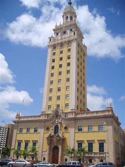 Miami Tower Freedom Downtown Wikimedia History Commons