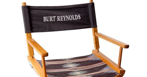 lot 325 burt personalized director s chair the 15 most burt items in the