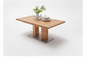 Table Extensible Bois Massif : table repas bois massif rectangulaire 140 220 cm cbc meubles ~ Teatrodelosmanantiales.com Idées de Décoration