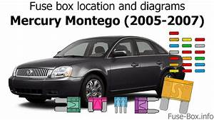Fuse Box Location And Diagrams  Mercury Montego  2005-2007