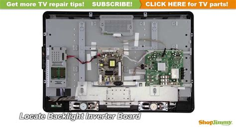 philips tv picture repair   replace  backlight