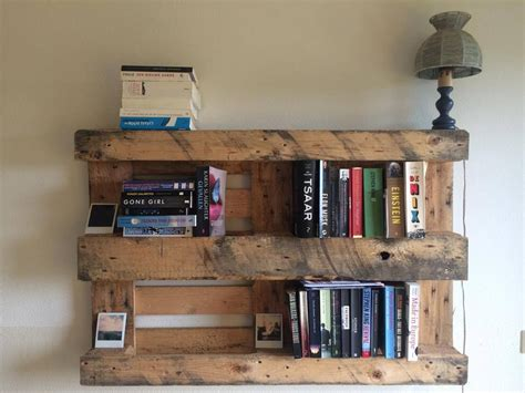 diy pallet bookshelf plans instructions