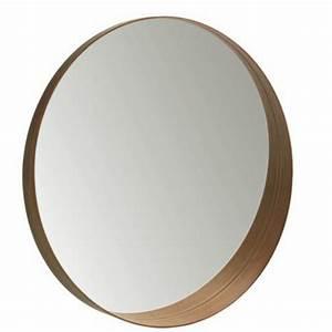 modeles de miroirs ronds pour la salle de bain archzinefr With miroir salle de bain rond bois