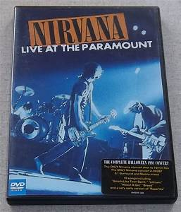 NIRVANA Live At The Paramount DVD SOUTH AFRICA Cat# UMFDVD ...