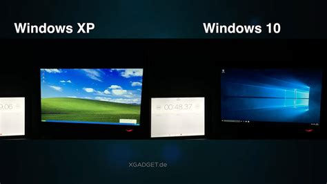 Windows Xp Vs. Windows 10
