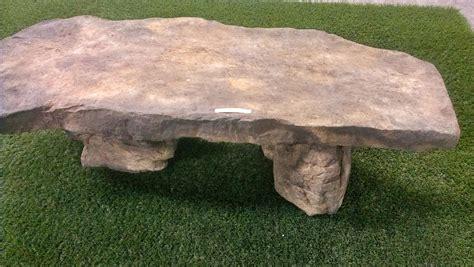 artificial rock benches decorative outdoor garden furniture
