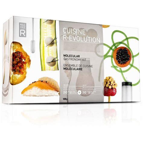 molecular gastronomy kit cuisine livre de cuisine moléculaire idée cadeau