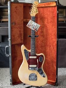 1964 Fender Jaguar Blonde Over Ash