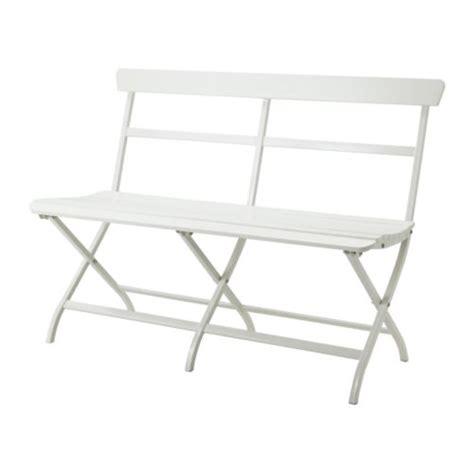 white powder coated steel ikea folding malaro outdoor