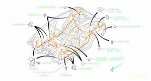 Subaru Impreza Harness-rear  Wiring  Main  Electrical  Airbag