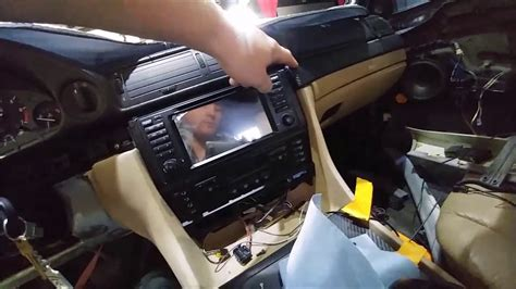 bmw  aftermarket android headunit youtube