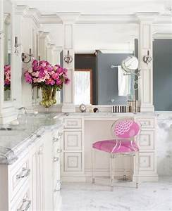 marble grey and pink accents bathroom for the home With pink and gray bathrooms