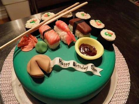 sushi birthday cake sushi cake recipe dishmaps