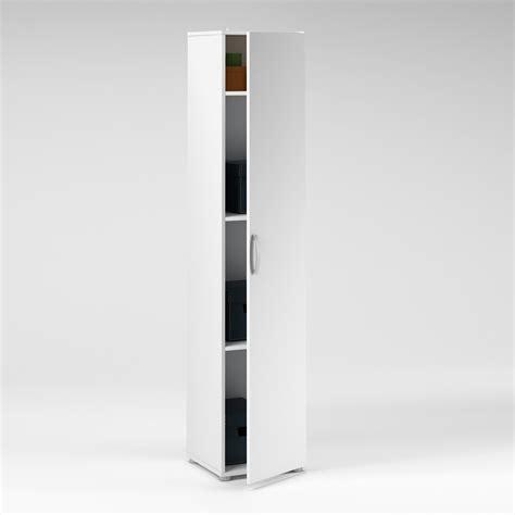 meuble bas cuisine 40 cm largeur colonne 1 porte longueur 35 x hauteur 175cm blanc