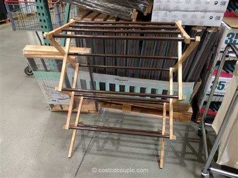 costco clothes rack vanderbilt folding drying rack