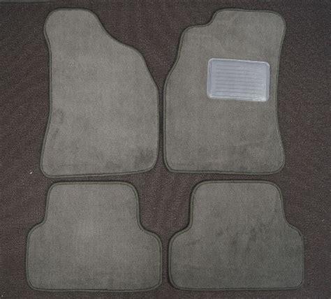 toyota runner floor mats set pcs charcoal gray carpet  averys