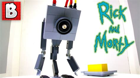 Rick And Morty Lego Butter Robot