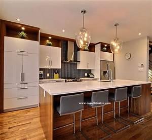 cuisines et salles a manger carolle fortin designer d With salle À manger contemporaine pour deco cuisine
