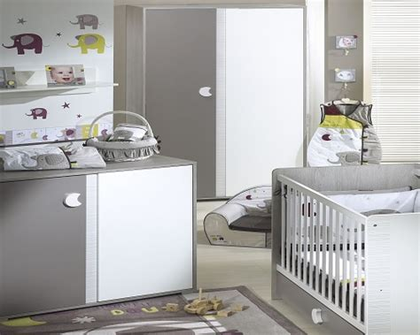 chambre bebe gris blanc idée déco chambre bébé gris et blanc