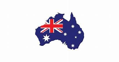 Flag Australia Map Transparent Vector Australian Clipart