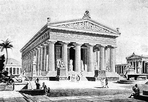 grecian temple clipart