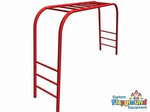 Freestanding Junior Overhead Monkey Bars ...