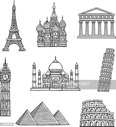 eiffel tower vector art  graphics getty images