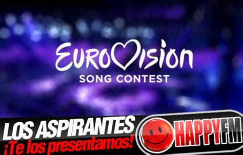 Eurovisión 2016: Conoce a los Aspirantes para Representar